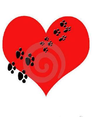 You have left pawprints forever on our hearts