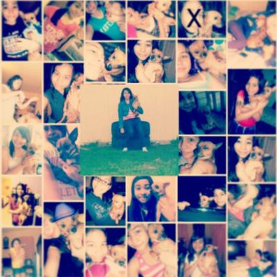 A collage I made of us {: