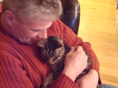 Buddy on his last night - Feb 15, 2009