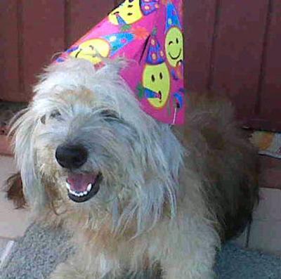 Jason at his birthday party.